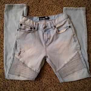 RSQ Tilly's Boys Light Wash Tokyo Skinny Jeans